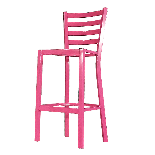 Company color powder coating service for restaurant stools (circle icon)