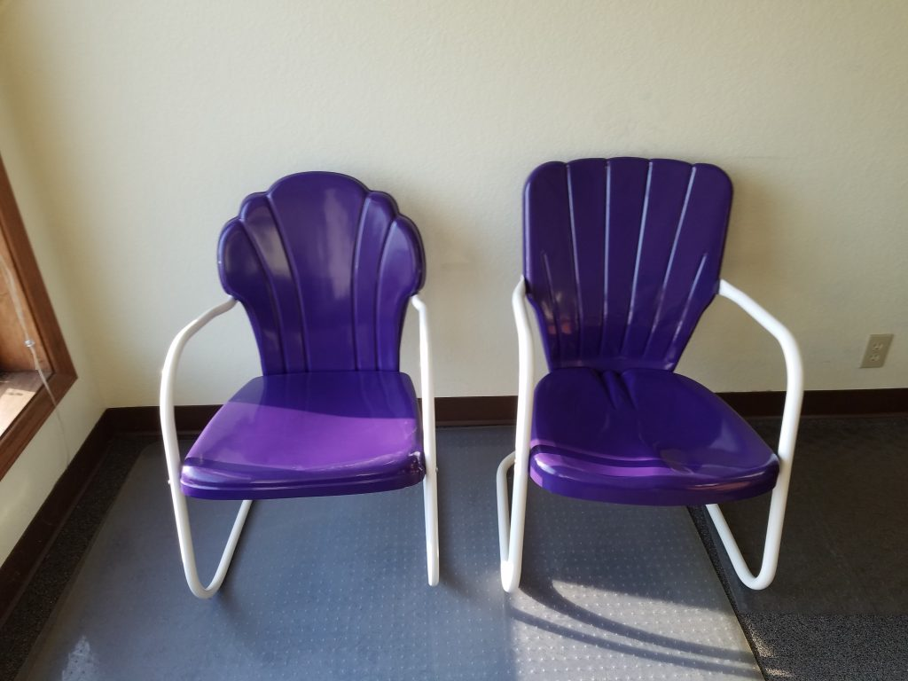 Powder coated twin powder coated outdoor rocking furniture queen